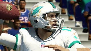 Ryan Tannehill Fights For the Dolphins Playoff Lives in Buffalo - Madden 25 NEXT GEN Online Gameplay