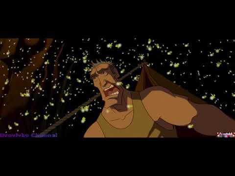 Нападение Светлячков ... отрывок из мультфильма (Атлантида: Затерянный Мир)2001