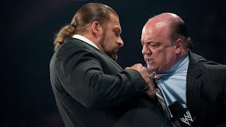 Download Paul Heyman getting beaten up: WWE Playlist Mp3 and Videos