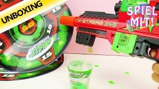 Cyber Strike Slime Control X-stream Splace Toys Schleim und Glibber Pistole unboxing