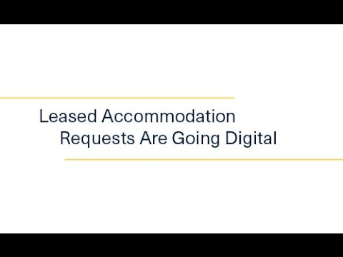 Property NSW Leased Accommodation Requests