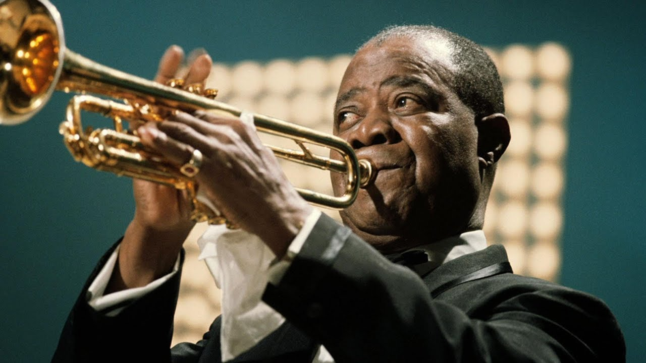 WHAT A WONDERFUL WORLD - LOUIS ARMSTRONG - YouTube