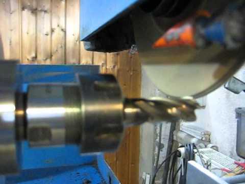 Sehr Schleifen eines Fraesers mit dem Drehschiebetisch - YouTube WK59