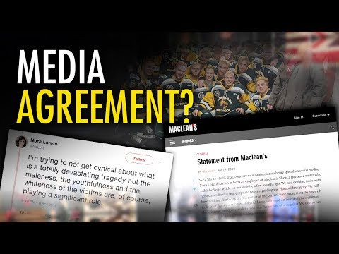 """Media Party """"100% agrees"""" with """"gross"""" Humboldt Broncos tweet"""