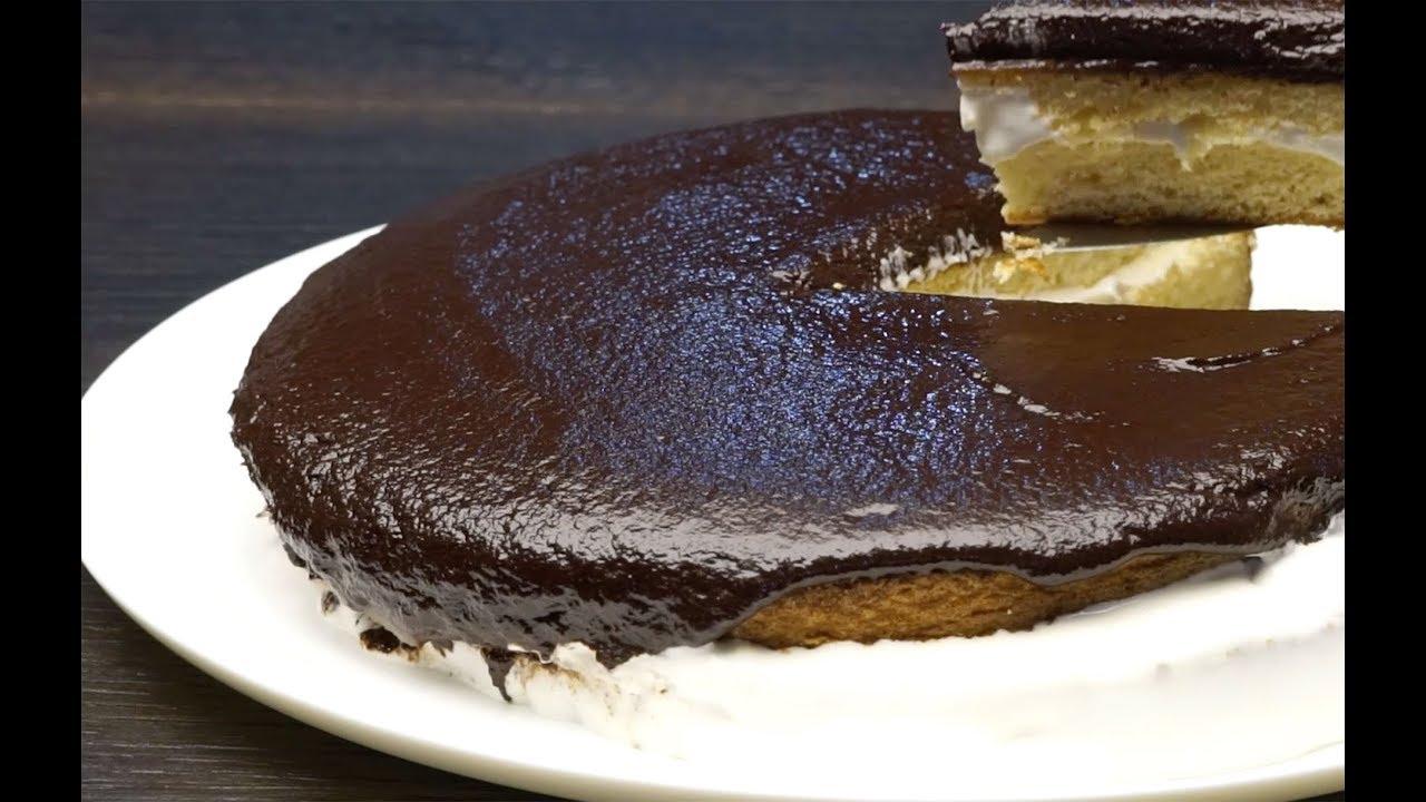 Zencefilli Kek Tarifi (Çikolata Soslu) Tarifi