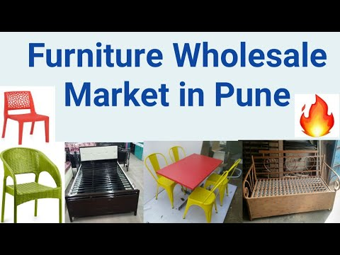 Wholesale Furniture Market in Pune | Cheapest Metal Furniture, Plastic, Office Chairs, Sofa, Bed