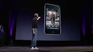 Apple Music Event 2008 - 2G iPod Touch Introduction
