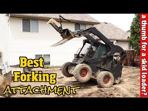Best Skid steer attachment ever made  Its replaced our mini excavator for  Demolition jobs