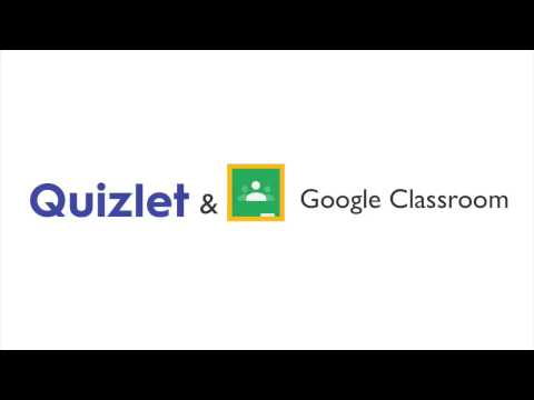 How to Use the Google Classroom Integration on Quizlet