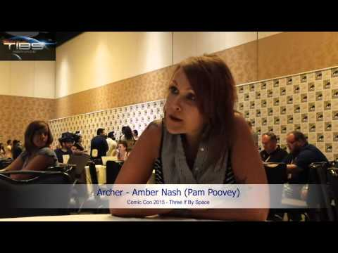 SDCC 2015 - Archer's Amber Nash On Playing Pam