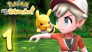ICH WILL DER ALLER BESTE SEIN - Pokemon Lets Go Pikachu Deutsch Part 1