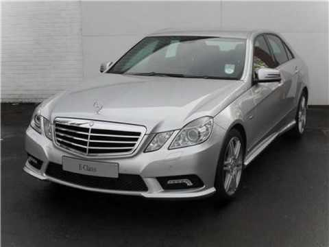 2009 mercedes benz e class 2100 cc e200 cdi blueefficiency sport 4dr youtube. Black Bedroom Furniture Sets. Home Design Ideas