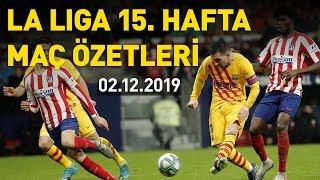 İspanya La Liga 15. hafta maç özetleri - 02.12.2019 Pazartesi
