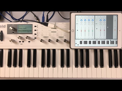 Let's Explore LayR Synthesizer - Live Stream iPad Demo