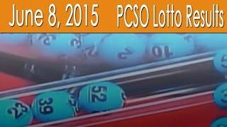 PCSO Lotto Results June 8, 2015 (6/55, 6/45, Swertres, EZ2 & 4D)
