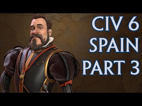 Civ 6 - Spain pt 3 - need more money!