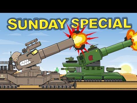 Битва на Рельсах - Мультфильм про танки