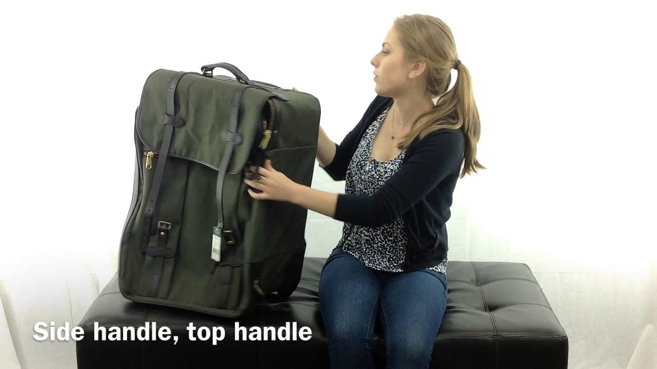 f99c5cc02dd Medium Wheeled Check-In Bag by Filson - YouTube