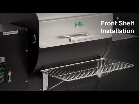 Front Shelf Installation - Green Mountain Grills