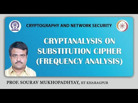 Cryptanalysis on Substitution Cipher (Frequency Analysis ).