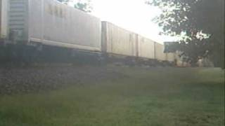 NS Piedmont Division Railfanning - Oakwood, GA 8/29/09