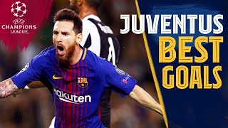BEST GOALS vs JUVENTUS ⚽