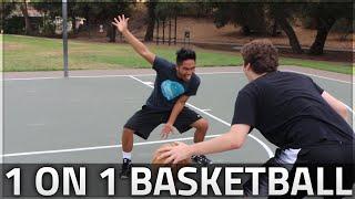 Crazy 1 on 1 basketball!!