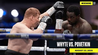 FULL FIGHT | Dillian Whyte vs. Alexander Povetkin (DAZN REWIND)