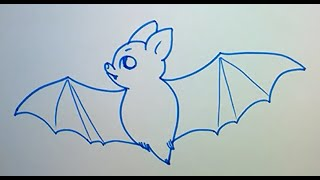 Учимся рисовать летучую мышь(Учимся рисовать летучую мышь., 2015-03-24T10:51:29.000Z)