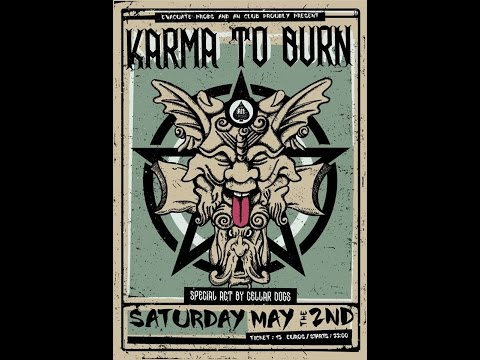 Karma To Burn - (complete show) @An Club, Athens 02/05/2015