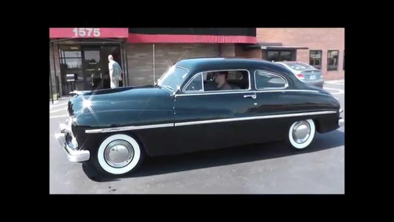 1950 mercury 2 door deluxe 6 passenger coupe youtube for 1950 mercury 2 door coupe