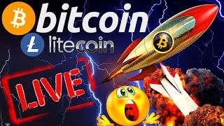 BITCOIN and LITECOIN LIVE STREAM bitcoin price prediction, analysis, news, trading