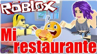 MOUNT MY OWN FAST FOOD RESTAURANT ? FAST FOOD SIMULATOR ROBLOX ? CRYSTALSIMS