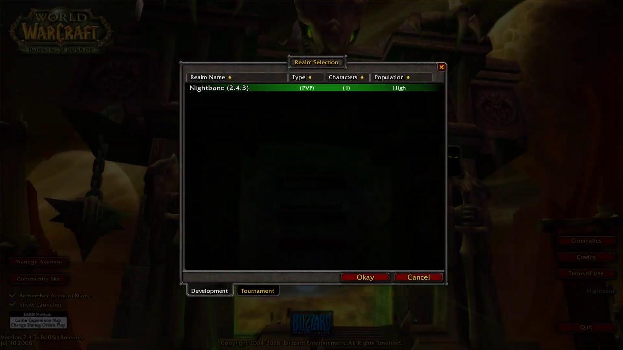 Nightbane WoW TBC Server Launch Live Stream! LvL 14-20 Gnome