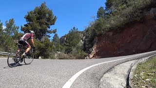 90 Minute Indoor Cycling Training Sunshine Catalonia Spain 4K Part 2