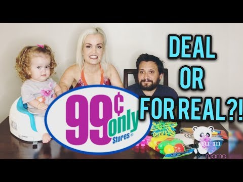 Mini Mama 99 cents only store  of 5 toys! Deal or For Real?