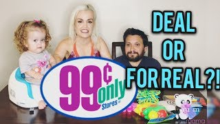 Mini Mama 99 cents only store review of 5 toys! Deal or For Real?