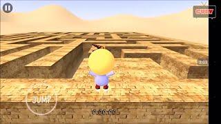 Trò chơi giải mã mê cung tìm lối thoát lạc vào mê cung cu lỳ chơi game lồng tiếng vui nhộn