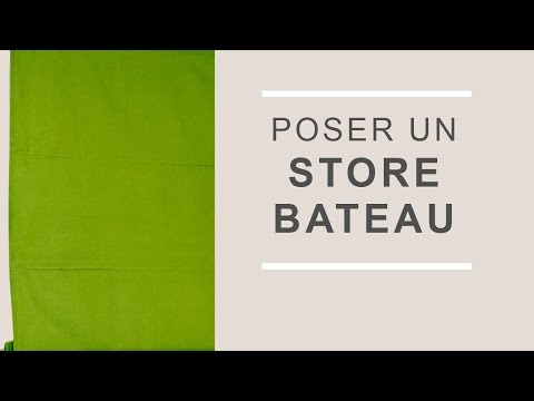 Poser Un Store Sur Battant De Fenetre Castorama Youtube