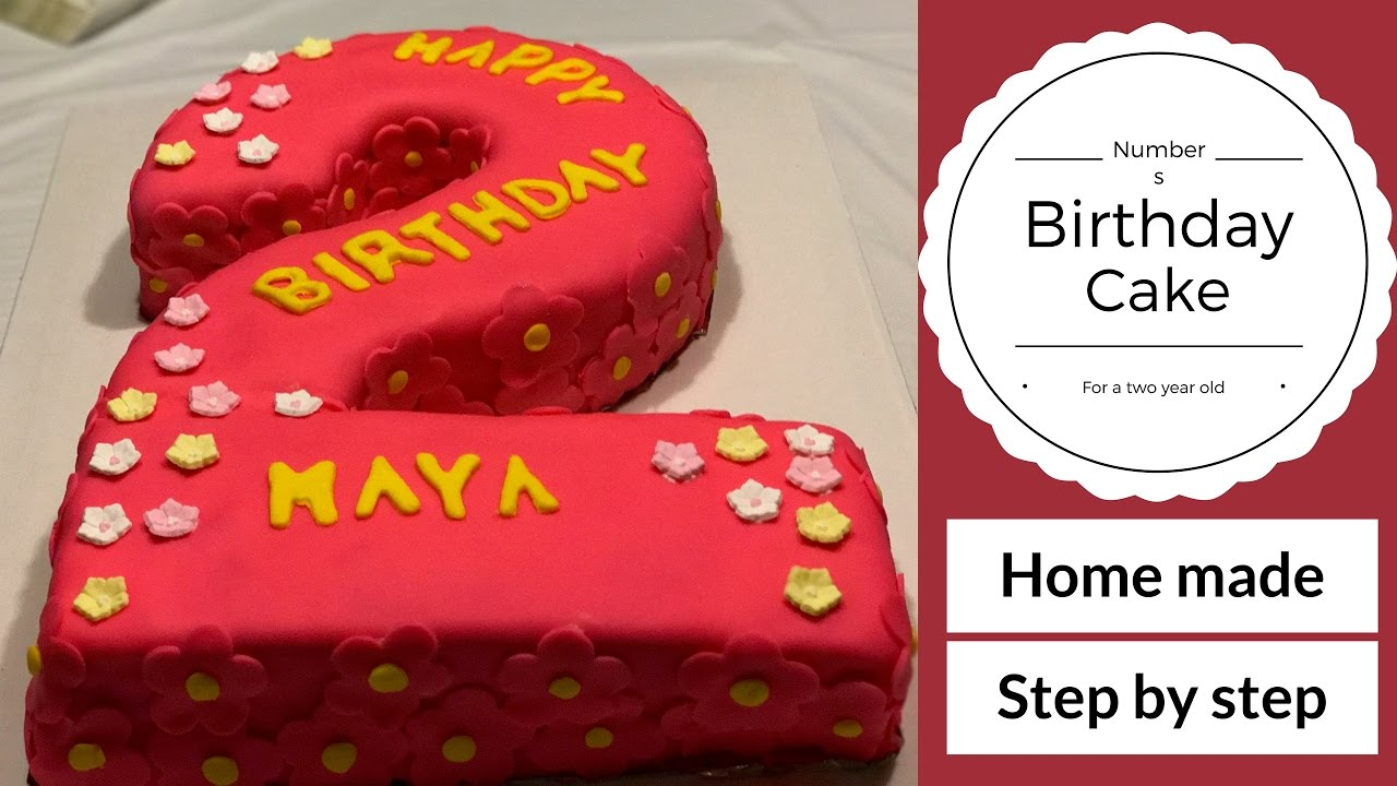 Birthday Cake Tutorial