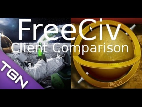 FreeCiv 2.4.0 - A Quick Look At Clients