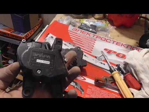 Замена моторедуктора отопителя ВАЗ 2112