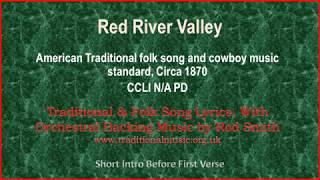 Red River Valley - Traditional Lyrics & Orchestral Music