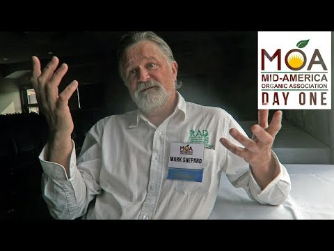 Mark Shepard of Restoration Agriculture | 2018 Mid-America Organic Association Conference | Day 1