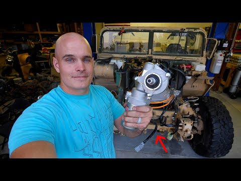 How to Add Power Steering to an Electric Hummer – (I know you're curious)
