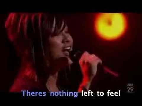 "American Idol Karaoke ""You Dont Have to Say u love me"""