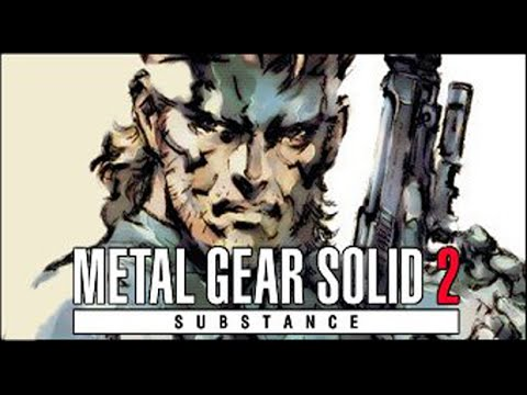 Metal Gear Solid 2 All Cutscenes HD Game - Substance Version