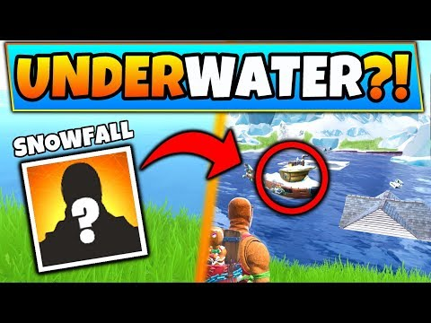 Fortnite SNOWFALL SKIN and an UNDERWATER MAP?! - 7 Clues and Theories in Battle Royale + Gameplay!