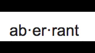 Aberrant Meaning