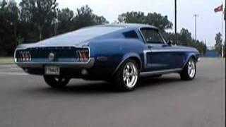 1968 Mustang Fastback Burnout